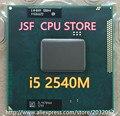 Lntel Core i5 2540 М ПРОЦЕССОРА 3 М/2.6 Г разъем G2 Двухъядерный Ноутбук процессор для HM65 HM67 QM67 HM76 (работает 100% Бесплатная Доставка)