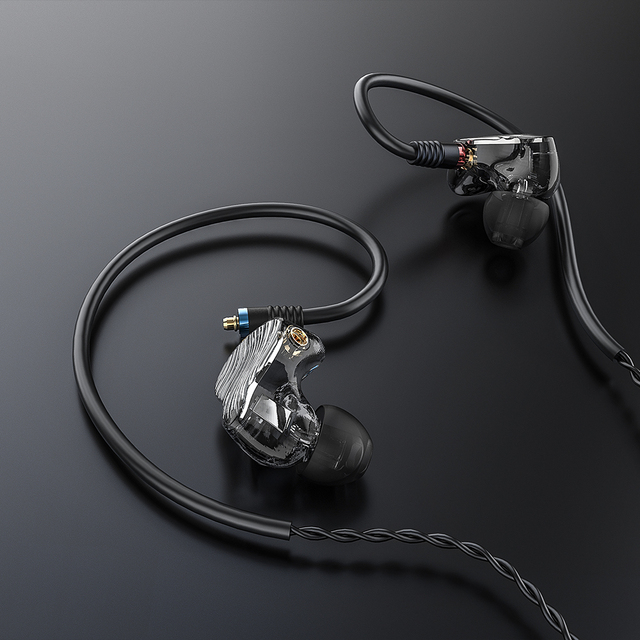 FiiO FA1 3D Printed Detachable Cable MMCX Design Single Driver Balanced Armature HIFI In-Earphone/Headphone for iOS and Android 4