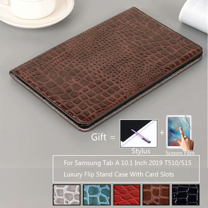 Folio stand cover <font><b>case</b></font> for 2019 <font><b>Samsung</b></font> Galaxy Tab A 10.1