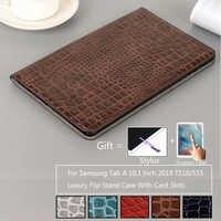 """Funda funda para 2019 Samsung Galaxy Tab 10,1 """"SM-T510 SM-T515 T510 T515 de lujo Tablet caso piel de la cubierta"""