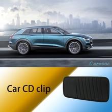 Car sun visor CD DVD card storage shelf suitable for most car clip For vw TIGUAN CC Golf  JETTA b6 b7 accessories