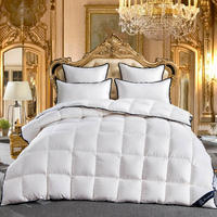 2018 King Queen Full Twin size 100%Goose Down White Comforter Bedding set Bedspread Duvet Throw Blanket Bed Quilt edredon colcha
