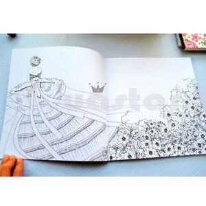 Image 3 - Koreaanse Droom Winkel volwassen kleurboek Voor Stress Schilderij Tekening Boek cahier coloriage adulte libro para colorear livro