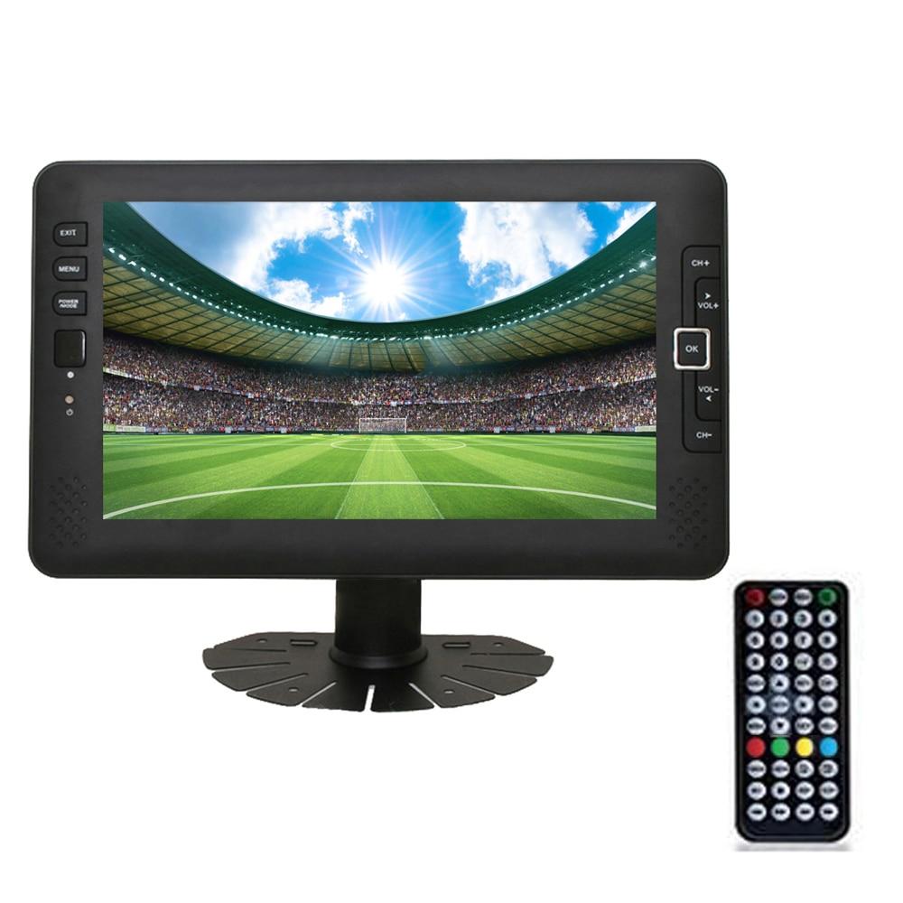 9inch Portable Car TV Television DVB-T2 digital Car TV Receiver AV USB MP3 MP4 TV Program Recording 3