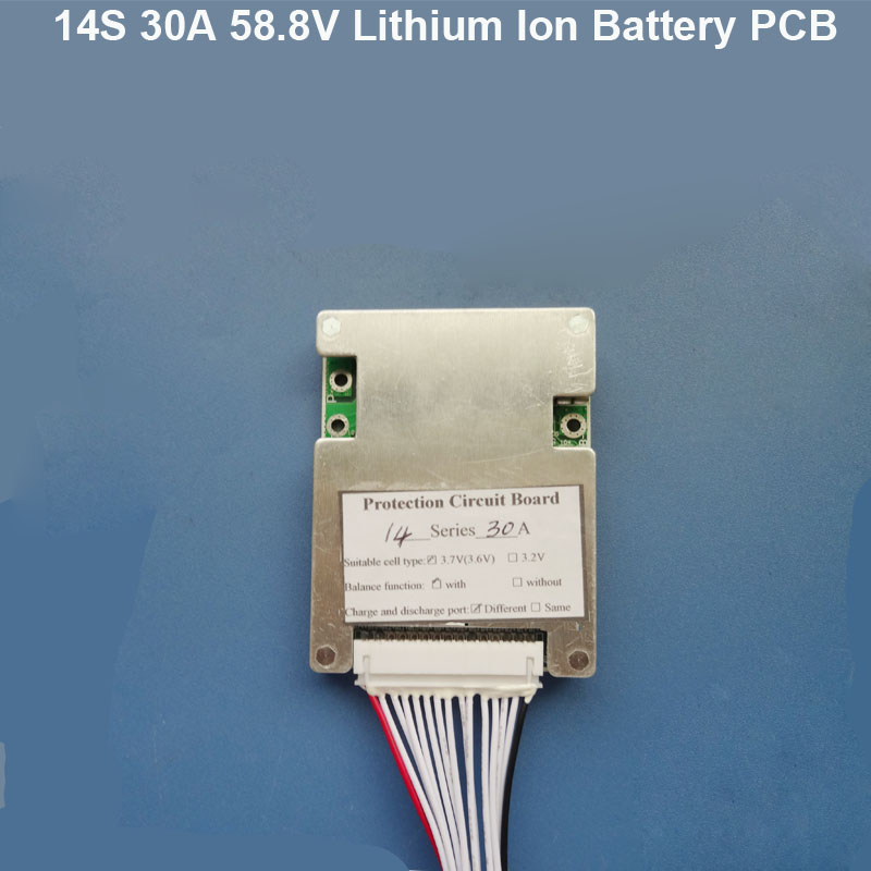 58 8v 14s Bluetooth Bms For 48v Li Ion Battery Pcb Board