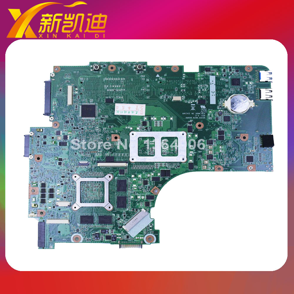 Warranty Original for Asus N53S N53SM N53SN N53SV Rev  2.0 2 RAM GT540M 1G laptop motherboard mainboard original new laptop motherboard for asus k52jc rev 2 1 ddr3 n11m ge2 s b1 mainboard