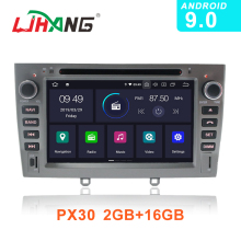 LJHANG IPS Android 9.0 Car DVD Multimedia Player For PEUGEOT 308 408 308SW GPS Navi WIFI 2 Din Car Radio Auto Headunit Bluetooth