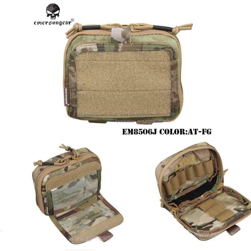 Emersongear Tactical Multi-purpose Goggle and Map pouch and Nylon Pouches Military Army MOLLE Combat Gear emersongear edc tactical admin pouch molle multi purpose survival pouch military army combat bag em8506
