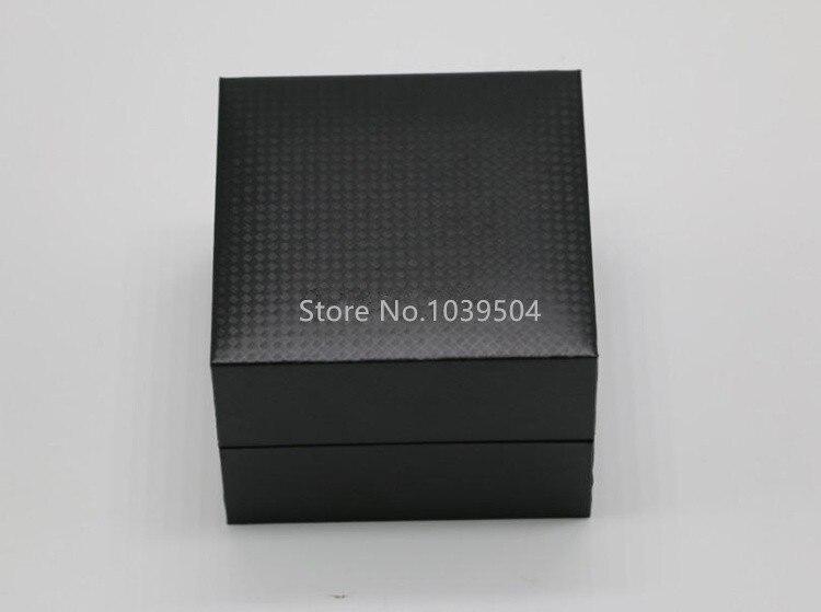 de armazenamento relógio cor preta pulseira caixas