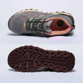 CAMEL Men Women Outdoor Hiking Shoes Breathable Non-slip Durable Anti-impact Comfortable Travel Hiking Trekking Trail Shoes