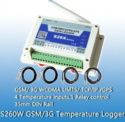 GSM GPRS Temperature Logger data logger