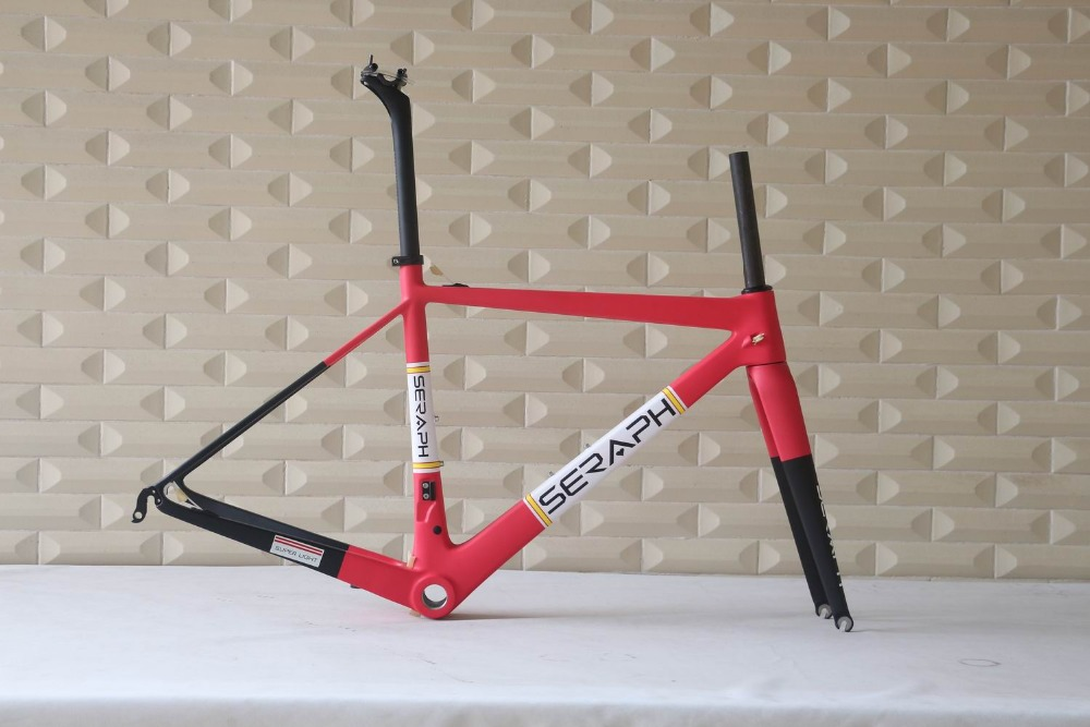 Super Light Carbon Fiber Road Bike Frame,T1000 Bicycle Carbon Frame FM686. Chinese Carbon Road Frame Accept Custom Paitnign