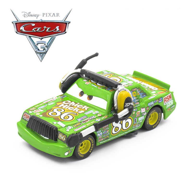 דיסני פיקסאר מכוניות 3 לייטנינג מקווין Diecasts צעצוע של כלי רכב מתכת סערה שחורה ג 'קסון חמים משאית צעצועי מתנה לילדים ילד חג המולד