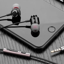 Mini In-ear Earphone 3.5mm Wired Headphones Stereo Earbuds with Microphone for Phone PC MP3 Deep Bass Headset Sport Earphones(China)