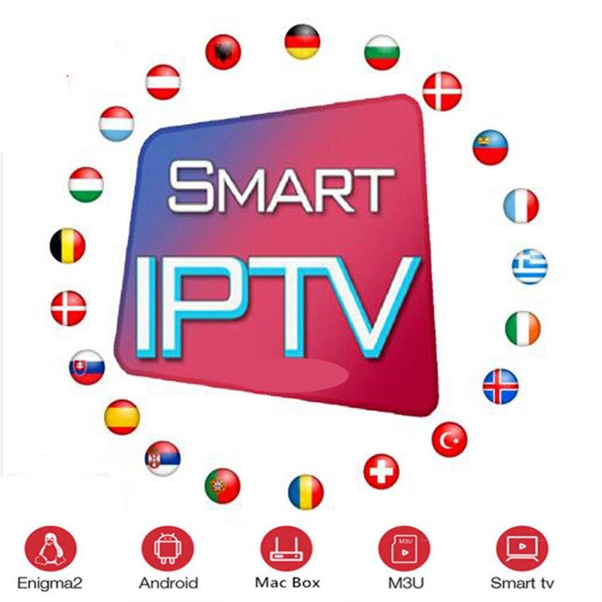 Full  World Europe IPTV Subscription Adult Iptv French Spain Sweden Brazil Tv Box Android Tv Box Ssmart Iptv M3u Iptv Box