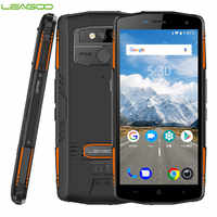 Global Version LEAGOO IP68 XRover NFC Face ID 4G Smartphone 5000mAh 9V2A 6GB 128GB Android 8.1 13MP Dual Rear Cams Mobile Phone