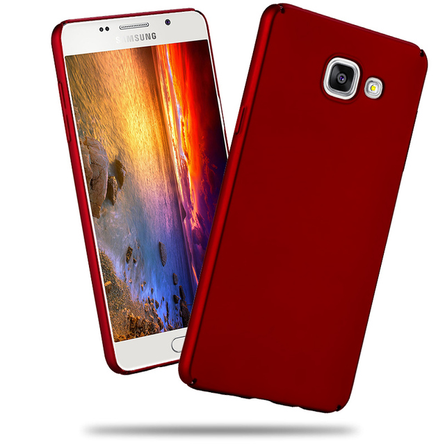 best sneakers cf88d 7e7a8 US $3.99 |For Samsung Galaxy A5 2016 Case 360 Full Housing Ultra thin Hard  matte PC Back Cover For Samsung A510 Phone Cases-in Fitted Cases from ...