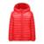 2-12Y Ultra light meninos Das Meninas do bebê down jacket Real 90% pato para baixo casaco de inverno quente crianças roupa com capuz e bolso