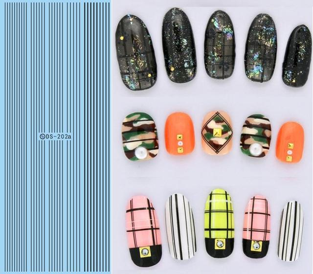 Makeup Diy Nail Design Water Transfer Stickers For Nail Simple