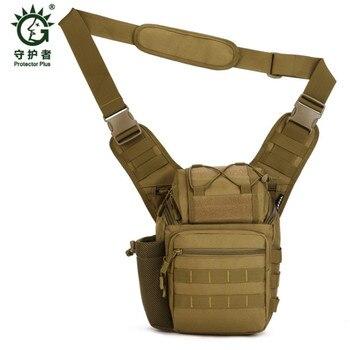 Men Fashion Messenger Bag High Quality Waterproof Nylon Pack Student School Bag Hasp Cover Military Handbag hologram for sale