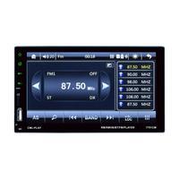 1Set Double 2 DIN Car 7 MP3 MP5 Player Stereo FM Radio Sat Nav Bluetooth USB
