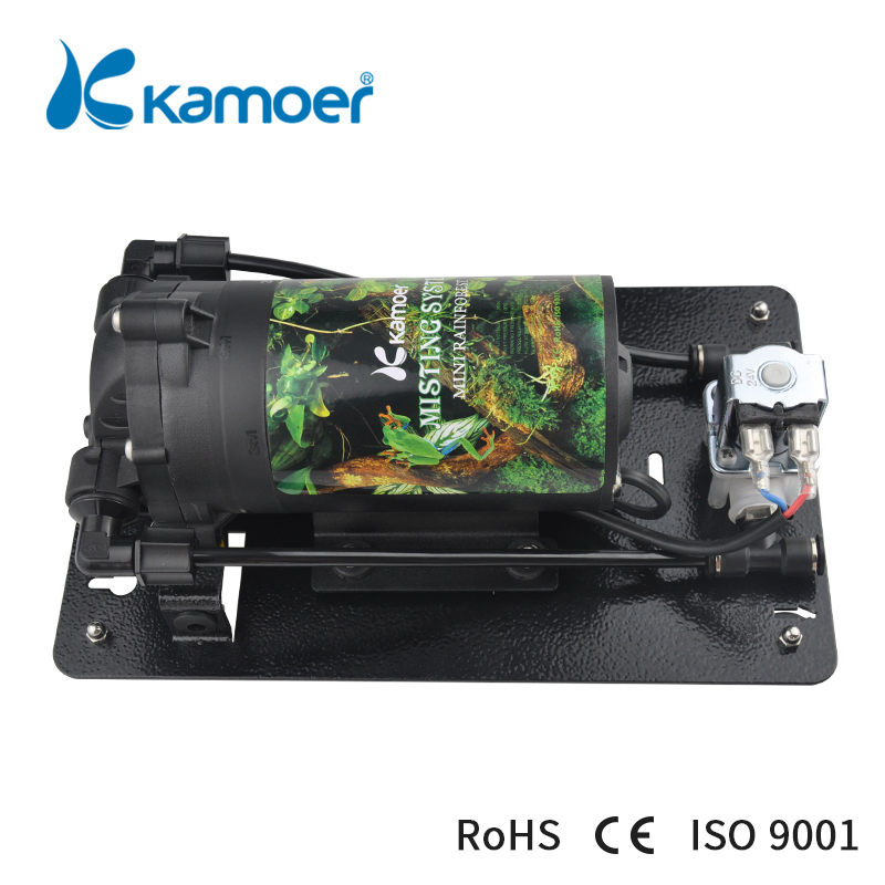 Kamoer Min Rainforest Misting System ( For Reptile/Rainforest Tank, Low Noise, High Pressure, Spraying Pump, Water Pump) цена и фото