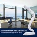 Креативный СВЕТОДИОДНЫЙ Стол Настольные Лампы Затемнения USB Чтение Свет Перезаряжаемые Свет С 24 Светодиодов для Спальни Гостиной чтение