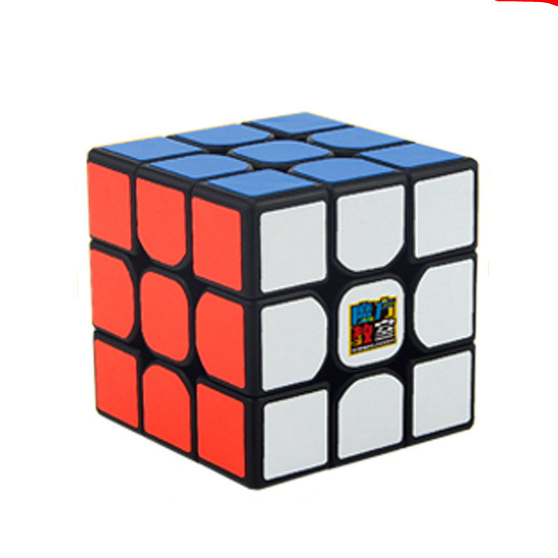 Moyu 3x3x3 Magic Cube Mf3rs 56mm Three Steps Puzzle Professional Speed Cube Magico Educational Toys For Children Cube With Stand