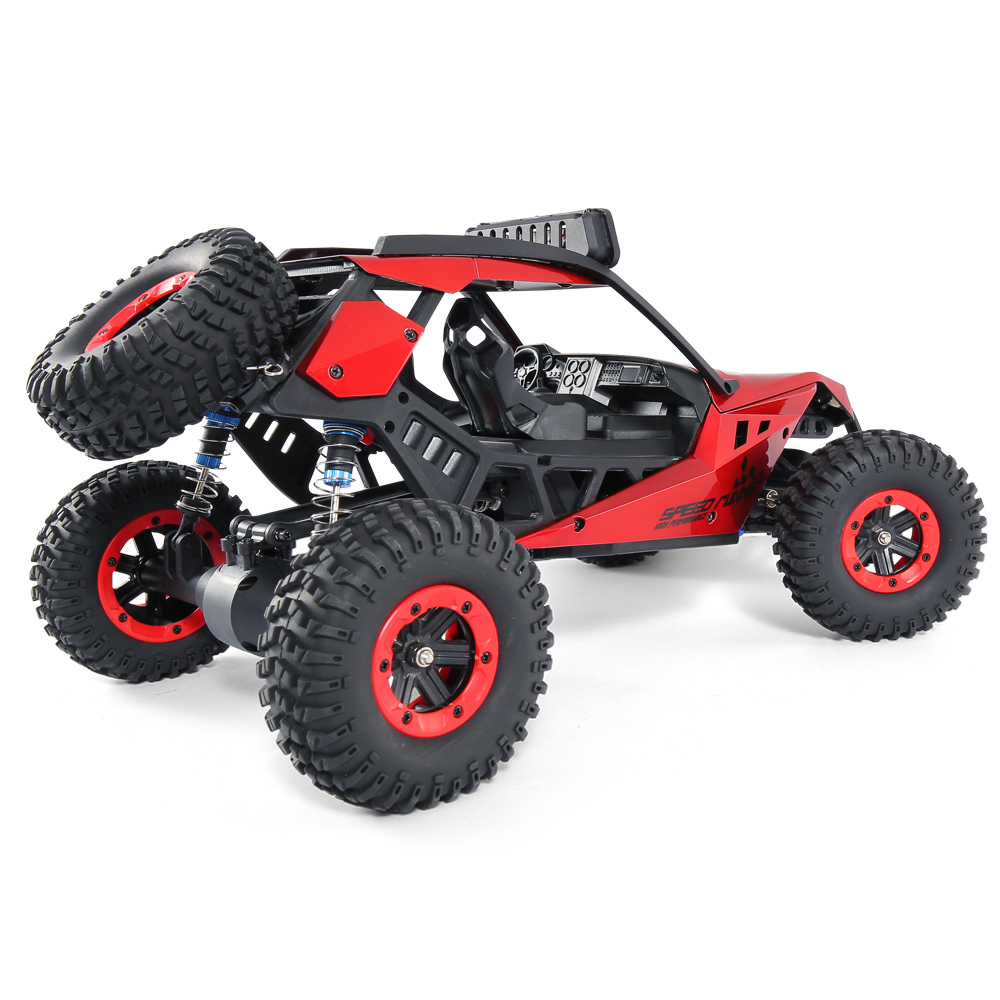 JJRC JJRC Q46 112 2.4G RC Car 4WD 45kmh High Speed Rock Crawler Desert Buggy Cars RTR for Kids Children Gifts RC Toys (22)