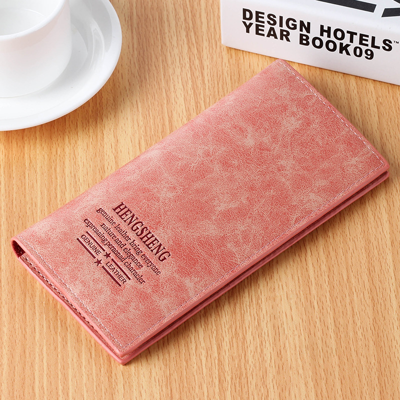 Women Wallets Hasp Zipper Design Card Holders Girl Purse Solid Long Clutch Dull Polish Ladies Leather Wallet Female 1380 laamei women wallets ladies long design hasp zipper purses clutch change coin card holders carteras female wallet pu leather