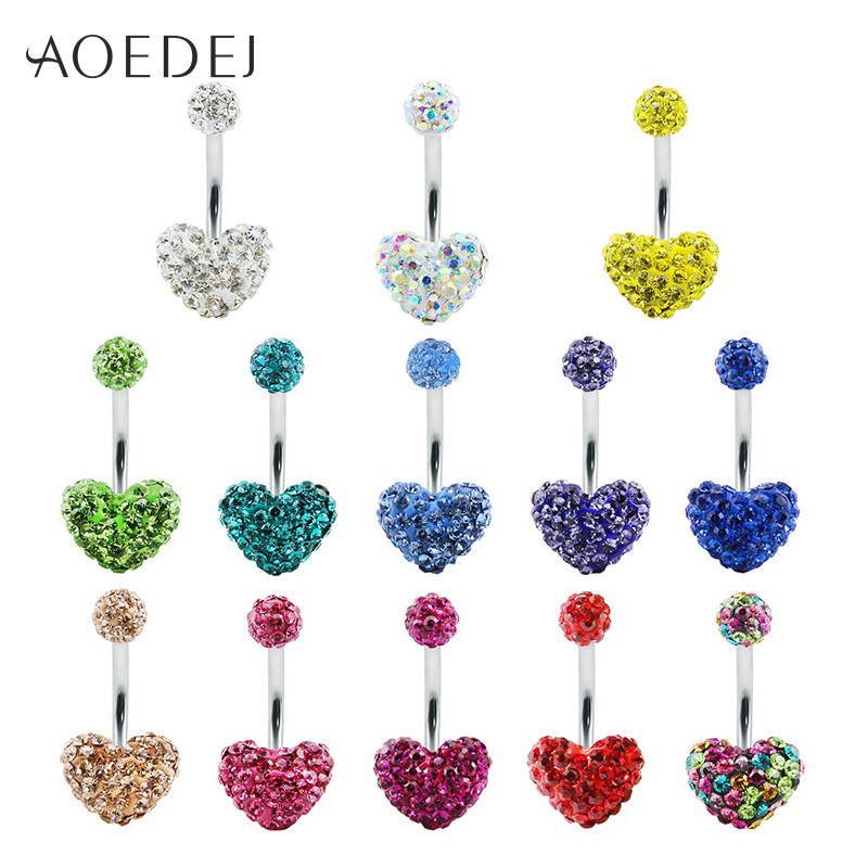 AOEDEJ 13 Pcs/Lot Heart...