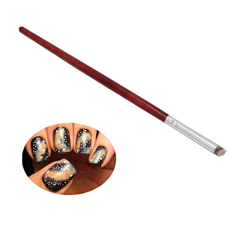 1Pcs Professional Nail Art Brush Gradual Color Blooming Nail Drawing Pen fake nail gel tool