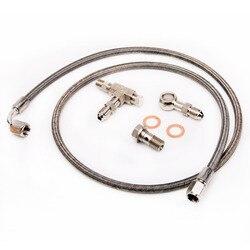 Kinugawa turbo zestaw linii podawania oleju 100cm 4AN M12x1.25mm w/1.5mm ogranicznik