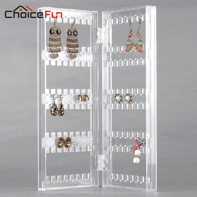 choicefun girl 2 door home desk transparent acrylic holder