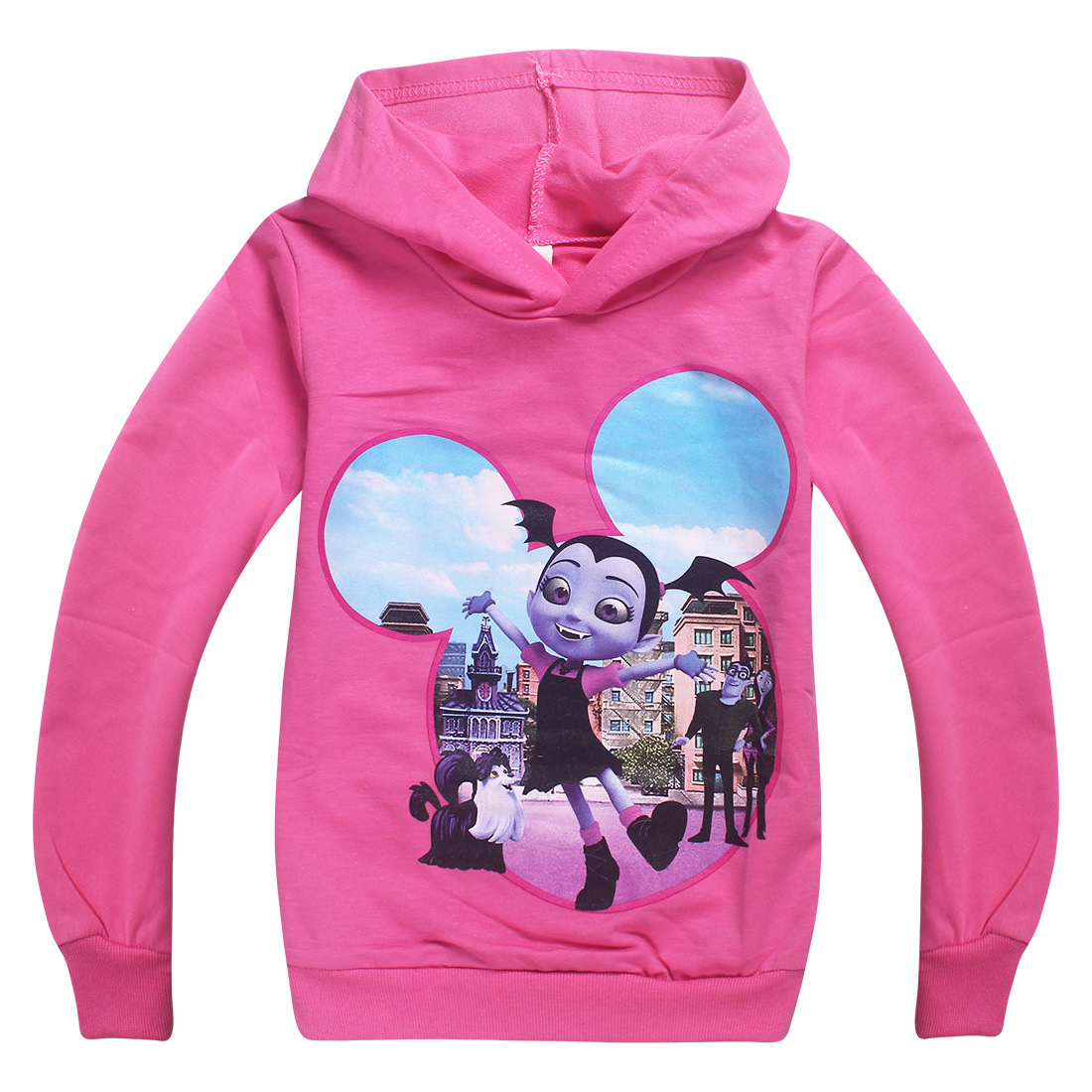 Roblox T-shirt For Kids Boys Sweayshirt For Girls Clothing Red Nose Day Costume Vampirina Hoodied Sweatshirt Long Sleeve Tees