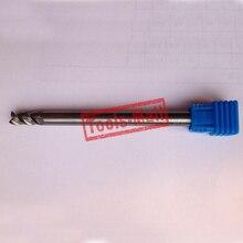 1 шт. 6 мм D6* 25* D6* 75 HRC50 3 флейты фрезы для алюминия с ЧПУ Инструменты твердосплавные ЧПУ плоские фрезы Фрезы
