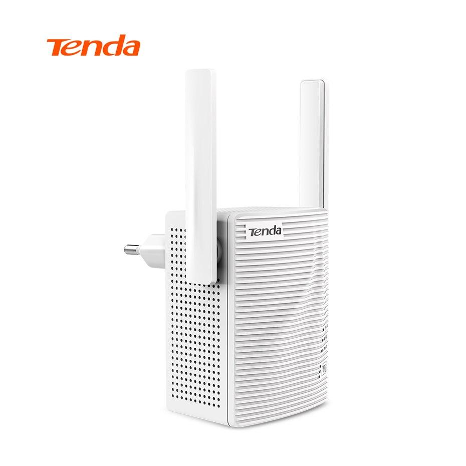 Tenda A18 Wireless Gigabit WiFi Repeater, AC1200 2.4G/5G Dual-Band Router Range Extender With Two External Antennas EU/US Plug tenda ac9 wireless wifi router 128 ddr dual band 1200m usb 2 0 1 wan 4 lan gigabit ports wi fi router 2 4g