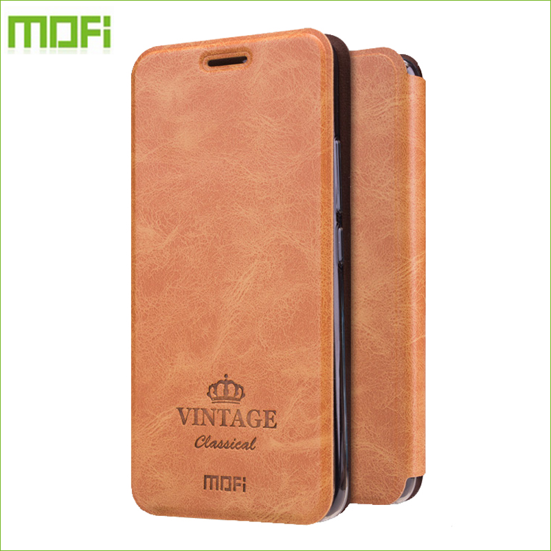 For Meizu m5 Meilan 5 Case MOFI Hight Quality Luxury Flip Leather Stand Case For Meizu