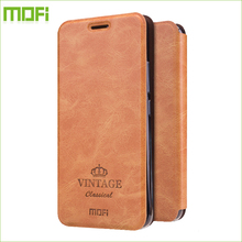 Для Meizu Meilan m5 5 Случай MOFI Высокое Качество Роскошный Флип кожа Стенд Чехол Для Meizu m5 С Держателя Карты 5.2 Дюймов