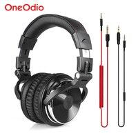 מקצועי צג DJ אולפן אוזניות DJ אוזניות סטריאו Wired אוזניות Headset משחקים עבור מחשב מחשב טלפון PS4 Xbox אחת