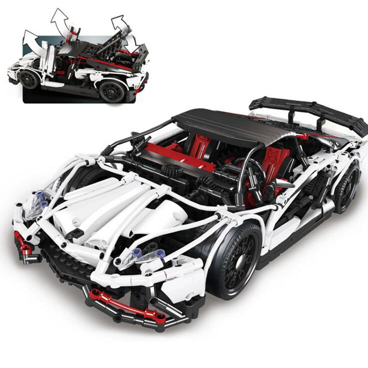 IN STOCK Lepin 23006 2838pcs New Technic Series The Hatchback Type R Set Building Blocks Bricks Educational Toys Boy Gifts Model new stock lepin 07052 batcave break in set 1047pcs genuine model moviebuilding blocks bricks educational toys boys girls 70909