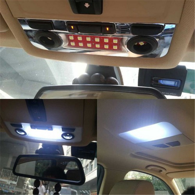 Car Styling Led Center Dome Roof Overhead Interior Reading Map Light Lamp For Bmw E90 E91 E92 E60 E65 E82 1 3 5 7 Series In Embly From