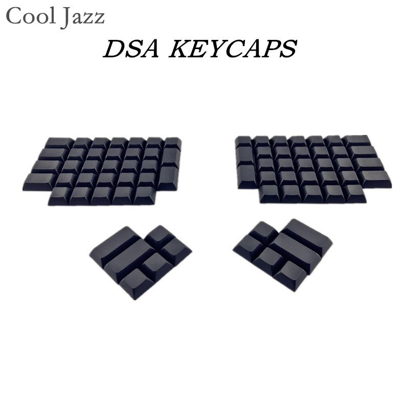 Ergodox Pbt Keycaps White Black Gray Dsa Pbt Blank Keycaps For Ergodox Mechanical Gaming Keyboard Dsa Profile