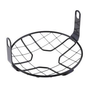 Image 5 - 1 Uds Universal tapa para faro de motocicleta Retro faro Protector de tapa para faro de motocicleta Accesorios