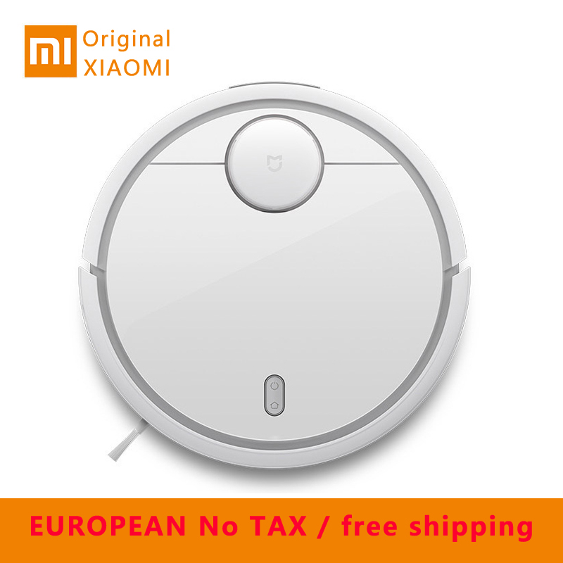 XIAOMI MI Robot Vacuum Cleaner for Home Automatic Sweeping Dust Sterilize Smart Planned Mobile App Remote