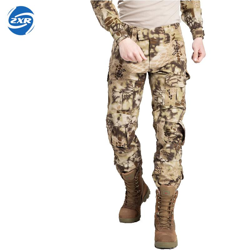 Outdoors Men Camouflage Hunting Pants Emersongear G3 Multicam Tactical Airsoft Combat Emerson Trousers Fedex Delivery From Usa