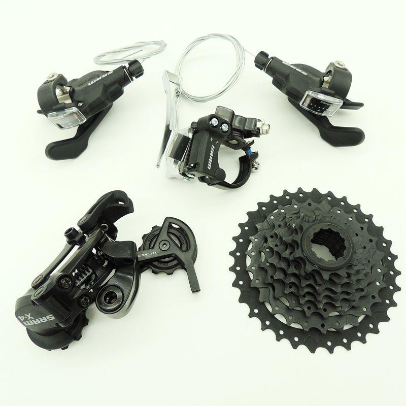 FMFXTR x4 3*8 24 Speed Bicycle Derailleur X4 Shift Lever FD3.0  Front Derailleur X4 Rear Derailleur PG820 Freewheel 11-32T SRAM