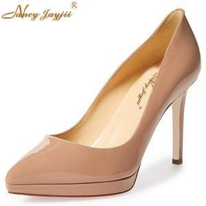 24a8aeda728 NANCYJAYJII Party High Heels Pumps Shoes Woman Platform