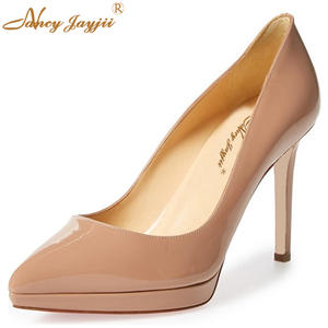 7d014384d91 NANCYJAYJII Party High Heels Pumps Shoes Woman Platform