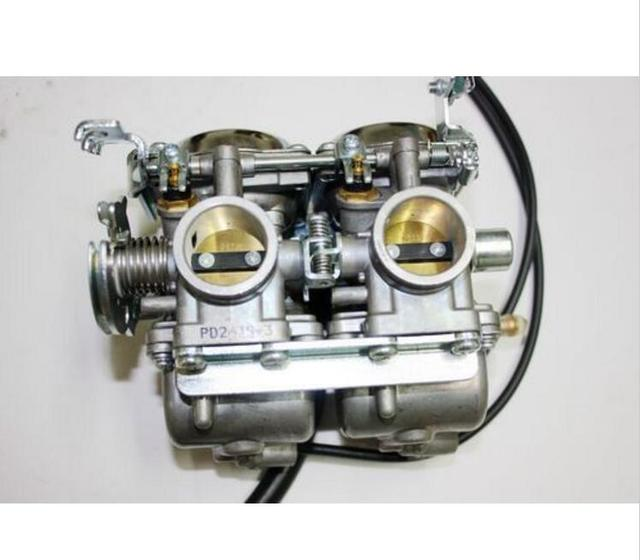 US $79 87  Double Twin Carby Carburetor 250cc 300cc Farm Quad Dirt Bike ATV  Dune Buggy-in Accessories from Automobiles & Motorcycles on Aliexpress com